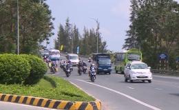 Tình hình giao thông trên địa bàn Tiền Giang ổn định trong dịp lễ 30/4 và 1/5.