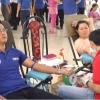 Hoạt đông hiến máu tình nguyện ở tỉnh Tiền Giang
