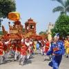 Lễ hội dân gian gắn với phát triển du lịch