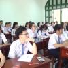 Học sinh Tiền Giang đang tập trung cho kỳ thi THPT 2017