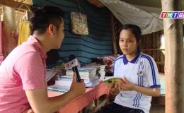 """Nâng bước đến trường """"Hoàn cảnh em Nguyễn Thị Thảo Nguyên"""""""