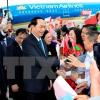Chủ tịch nước bắt đầu chuyến thăm chính thức Belarus