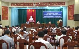 Tỉnh ủy Tiền Giang sơ kết việc thực hiện nhiệm vụ chính trị 6 tháng đầu năm 2017