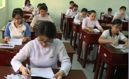 Kỳ thi tuyển sinh lớp 10 năm học 2017-2018 ở Tiền Giang diễn ra an toàn nghiêm túc