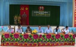 Đại biểu HĐND tỉnh Tiền Giang tiếp xúc cử tri huyện Chợ Gạo