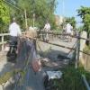 Nguy cơ sập cầu đường liên 6 xã