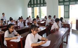 Có13.038 thí sinh trên địa bàn tỉnh Tiền Giang bước vào kỳ thi THPT Quốc gia 2017.