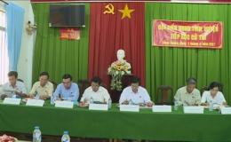 Đại biểu Hội đồng nhân dân tỉnh Tiền Giang tiếp xúc cử tri huyện Châu Thành và Chợ Gạo