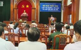 Triển khai Luật Tín ngưỡng Tôn giáo và Đấu giá tài sản