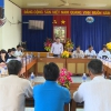 HĐND giám sát  thực hiện quy trình điều tra hộ nghèo, cận nghèo tại xã Quơn Long
