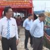 Thứ trưởng Bộ NN-PTNT Vũ Văn Tám khảo sát Cty TNHH TM-DV thủy sản Thái Hòa
