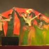 Đoàn văn công Quân khu 9 biểu diễn văn nghệ tại TX Cai Lậy