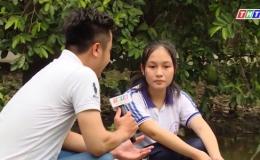 Hoàn cảnh em Nguyễn Thị Phương Cương học sinh lớp 12.1 trường THCS- THPT Tân Thới.
