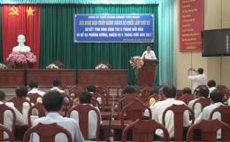 Đảng ủy Khối doanh nghiệp Tiền Giang sơ kết 6 tháng đầu năm 2017