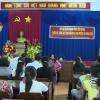 Tặng quà nạn nhân da cam huyện Gò Công Tây