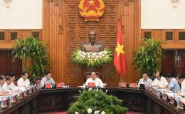 Thủ tướng Chính phủ họp với một số bộ, ngành về giải ngân vốn ODA