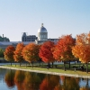 Canada – Rừng thu thay lá