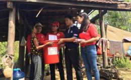 Cứu trợ khẩn cấp cho 6 tỉnh miền Trung thiệt hại do bão số 10