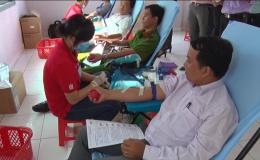 Gò Công Đông tổ chức hiến máu tình nguyện