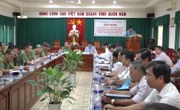 Sở NN&PTNT và Công an Tiền Giang sơ kết 03 năm công tác phối hợp
