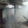 Khẩn trương khắc phục hậu quả sau cháy.