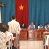 Chủ tịch Ủy Ban Nhân Dân tỉnh Tiền Giang tiếp các hộ dân Thành phố Mỹ Tho, Chợ Gạo và Gò Công Đông.