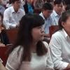 Hội nghị đối thoại với công nhân lao động.