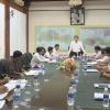 Chủ tịch UBND tỉnh Tiền Giang làm việc với UBND Tp. Mỹ Tho về công trình đầu tư chậm tiến độ