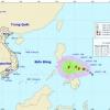 Ban Chỉ huy PCTT&TKCN tỉnh Tiền Giang thông báo khẩn ứng phó gió mạnh trên biển và bão gần biển Đông