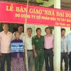 Trao nhà đại đoàn kết cho hộ nghèo huyện Gò Công Tây và Gò Công Đông
