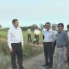Chủ tịch UBND tỉnh Tiền Giang khảo sát tình hình đất đai tại huyện Tân Phú Đông