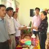 Lãnh đạo UBND huyện Chợ Gạo thăm gia đình có trẻ em bị đuối nước