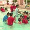 Khai giảng lớp dạy bơi miễn phí cho trẻ em
