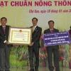 Xã Trung Hòa, huyện Chợ Gạo ra mắt xã nông thôn mới