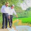 Chủ tịch UBND tỉnh Tiền Giang khảo sát thực tế việc khiếu nại tranh chấp đất đai