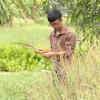 Hoàn cảnh em Bạch Quang Linh.