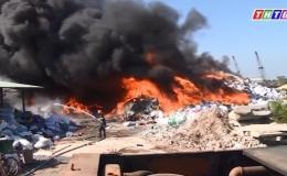 Cháy nhà trước tết và cháy xưởng sau tết.