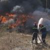 Cháy lớn công ty xử lý rác thải Á Châu