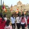 Ngày đầu năm mới, Tiền Giang du lịch hành hương gia tăng