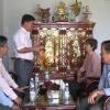Đoàn đại biểu Quốc hội đơn vị tỉnh Tiền Giang thăm và tặng quà nhân dịp Tết