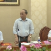 Thứ trưởng Bộ NN&PTNT làm việc với tỉnh Tiền Giang