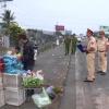Kiểm tra tình hình trật tự an toàn giao thông tuyến Quốc lộ 1