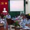 Chủ tịch UBND tỉnh làm việc với Ban Quản lý Dự án Chuyên ngành tỉnh Tiền Giang
