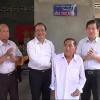 Nguyên Chủ tịch nước Nguyễn Minh Triết tặng nhà tình nghĩa cho gia đình chính sách