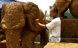 Độc đáo làng nghề chế tác từ đá ong
