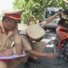 Trạm Cảnh sát giao thông Trung Lương ngăn chặn kịp thời vụ đua xe trái phép