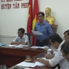 HĐND huyện Tân Phước giám sát công tác quản lý và sử dụng đất công