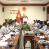 UBND tỉnh Tiền Giang xem xét danh mục các dự án đầu tư