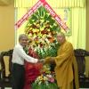 Lãnh đạo tỉnh Tiền Giang chúc mừng Đại lễ Phật Đản, Phật lịch 2562