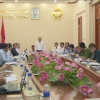 Ban chỉ đạo Hội nghị xúc tiến đầu tư tỉnh Tiền Giang thống nhất các nội dung tổ chức hội nghị